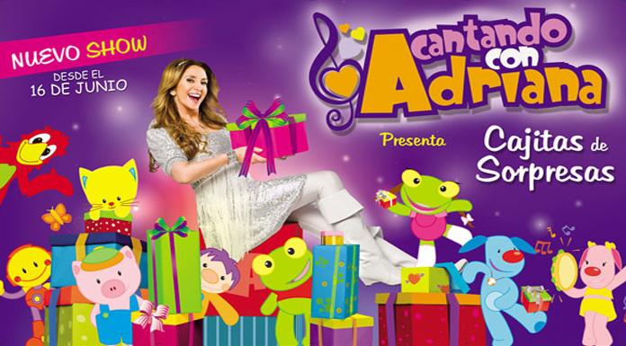 Cantando Con Adriana Dvd Cantando Con Adriana