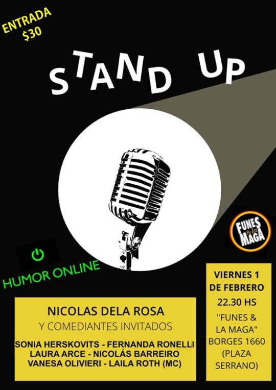 Stand up Nico Dela Rosa