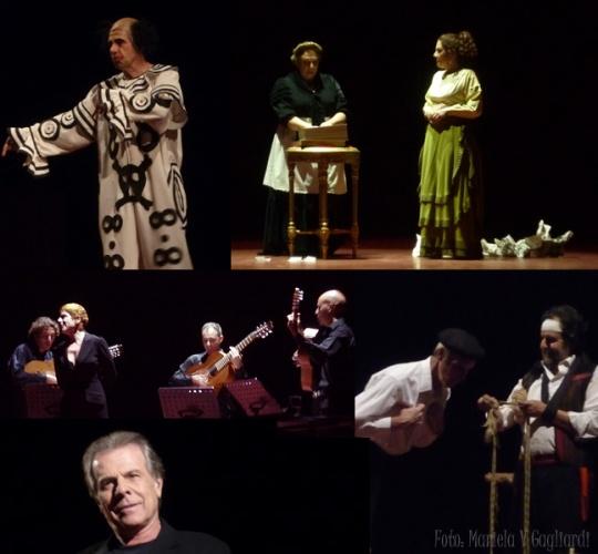 Foto mixta Día mundial del teatro