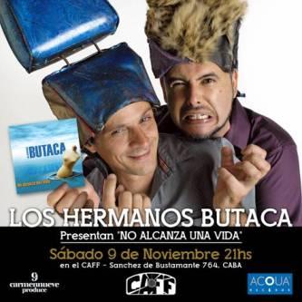 Hermanos Butaca nuevo disco