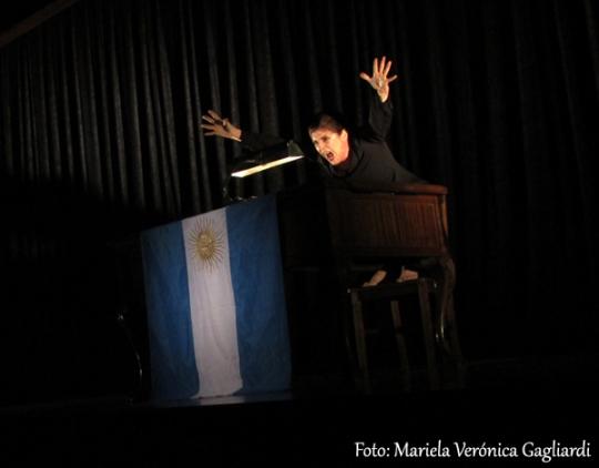 Eva Perón en la hoguera