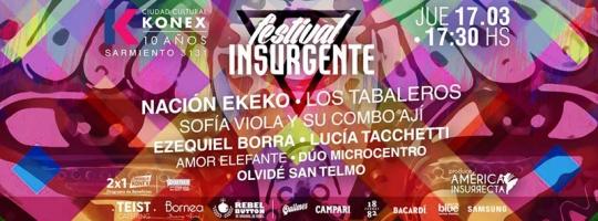 festival insurgente