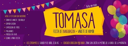 Inauguración Tomasa