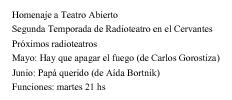 Ficha Gris de ausencia - radioteatro