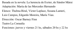 Ficha La herencia de Eszter